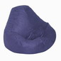 Blue 466 Urban Suede Bean Bag