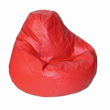 Lifestyle Dark Red Bean Bag