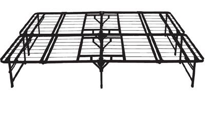 Quadfold Steel Bed Frame
