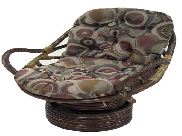 Jaquard Chenille Swivel Rocker Cushion