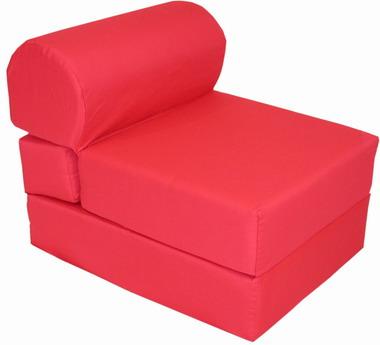 Red Kids Sleeper Chair