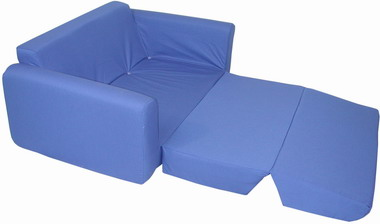 Juvenile Sofa Sleeper Royal Blue