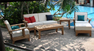 Caranas Teak Sofa Set
