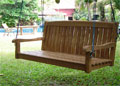 4 foot  Bench Swing