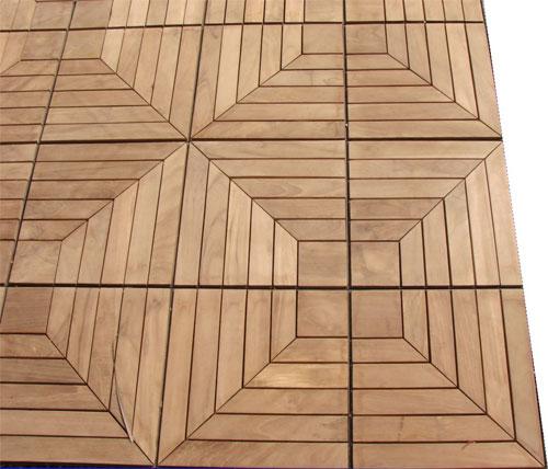 Teak Tile 12 Tiles Per Box