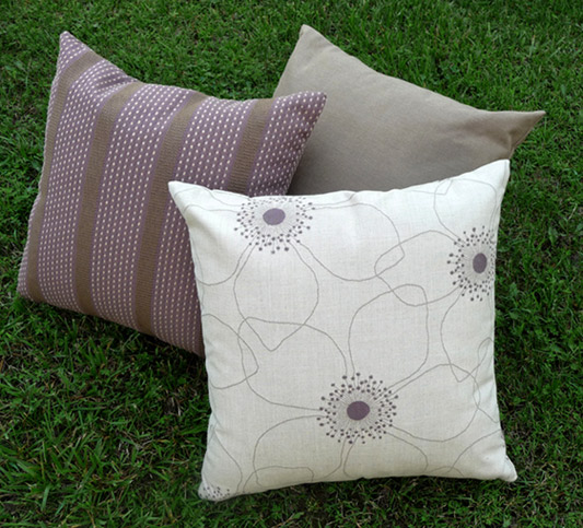 cocoa fluff pillow set. Black Bedroom Furniture Sets. Home Design Ideas