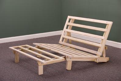 Trifold lounger futon frame for Tri fold futon frame instructions