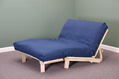 tri fold lounger futon frame