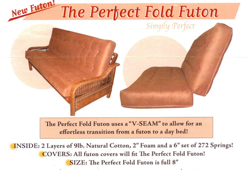perfect fold futon mattress  rh   futons