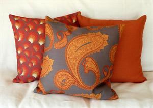 Fire in the Sky Pillow Set