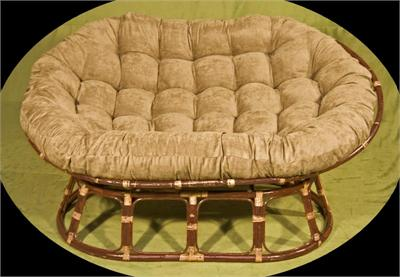 Double Papasan / Mamasan Love Seat