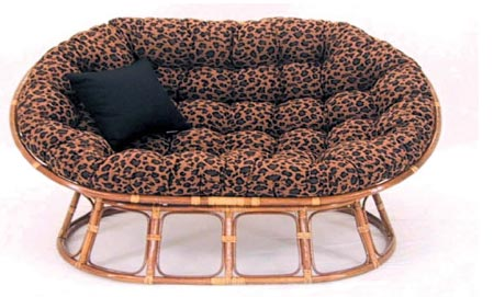 Cheetah Mamasan with Chair Pad Included