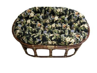 Outdoor Double Papasan Cushion