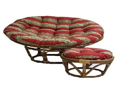 Single Outdoor Papasan Cushion