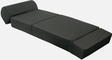 Black Kids Sleeper Chair