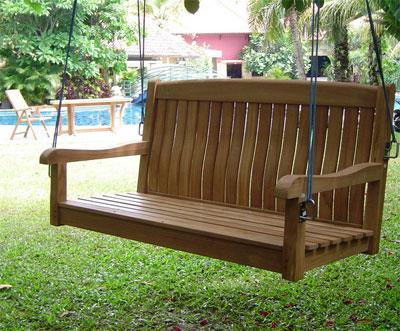 4 Foot Bench Swing