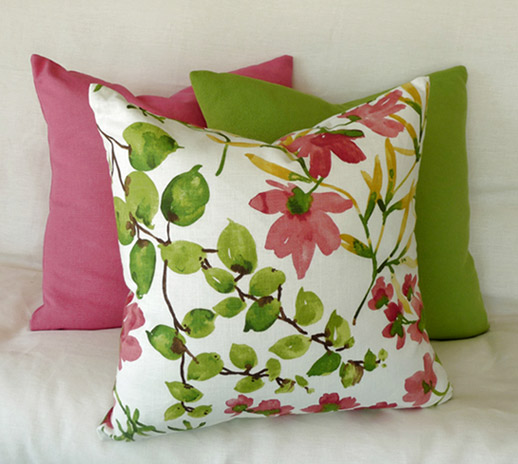 Flowering Crabapples Pillow Set