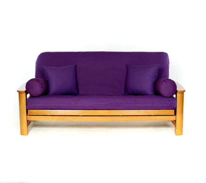 Heavy Purple Futon Cover