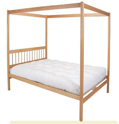 High Hat 4 Poster Bed
