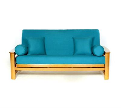 Heavy Teal Futon Cover