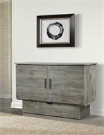 Charcoal Credenz Cabinet