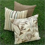 Tropical Stripes Pillow Set